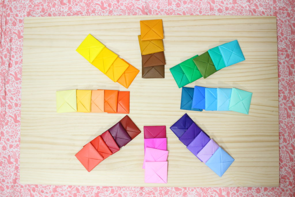 色板の使い方