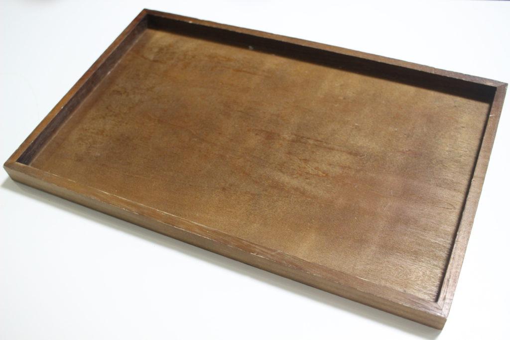 ダイソー「木製お盆」