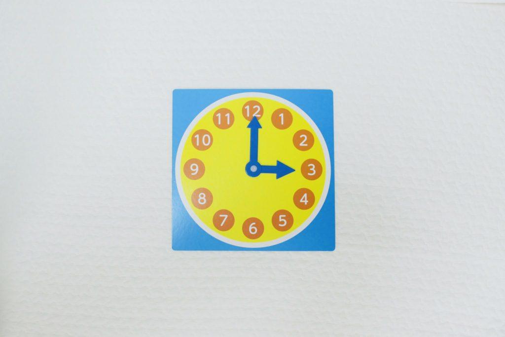 セリア 知育時計
