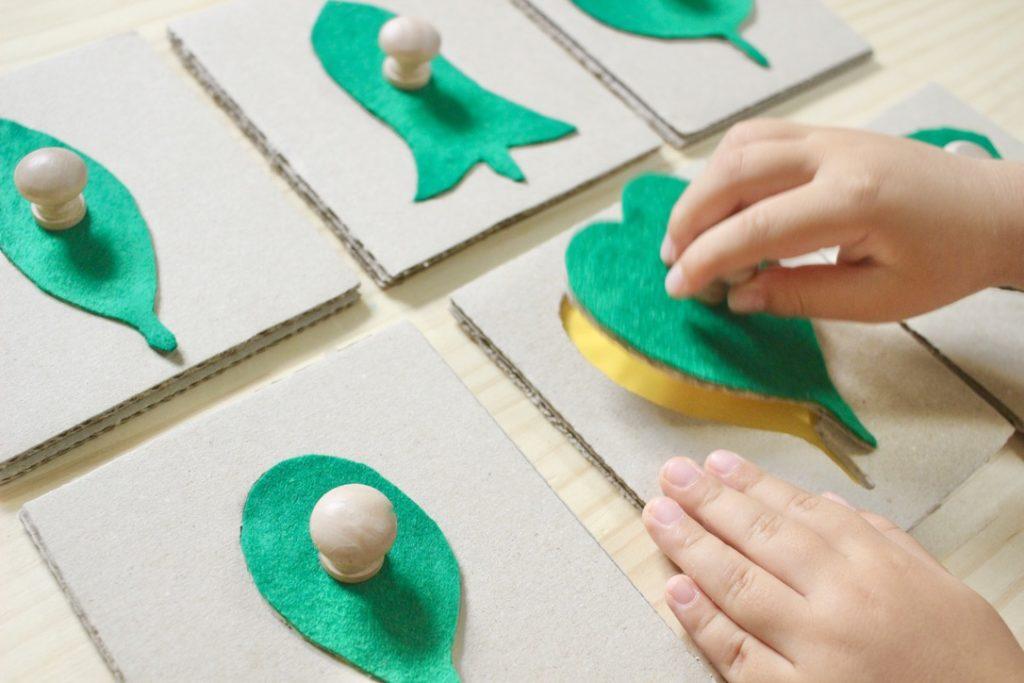 手作り 型はめパズル