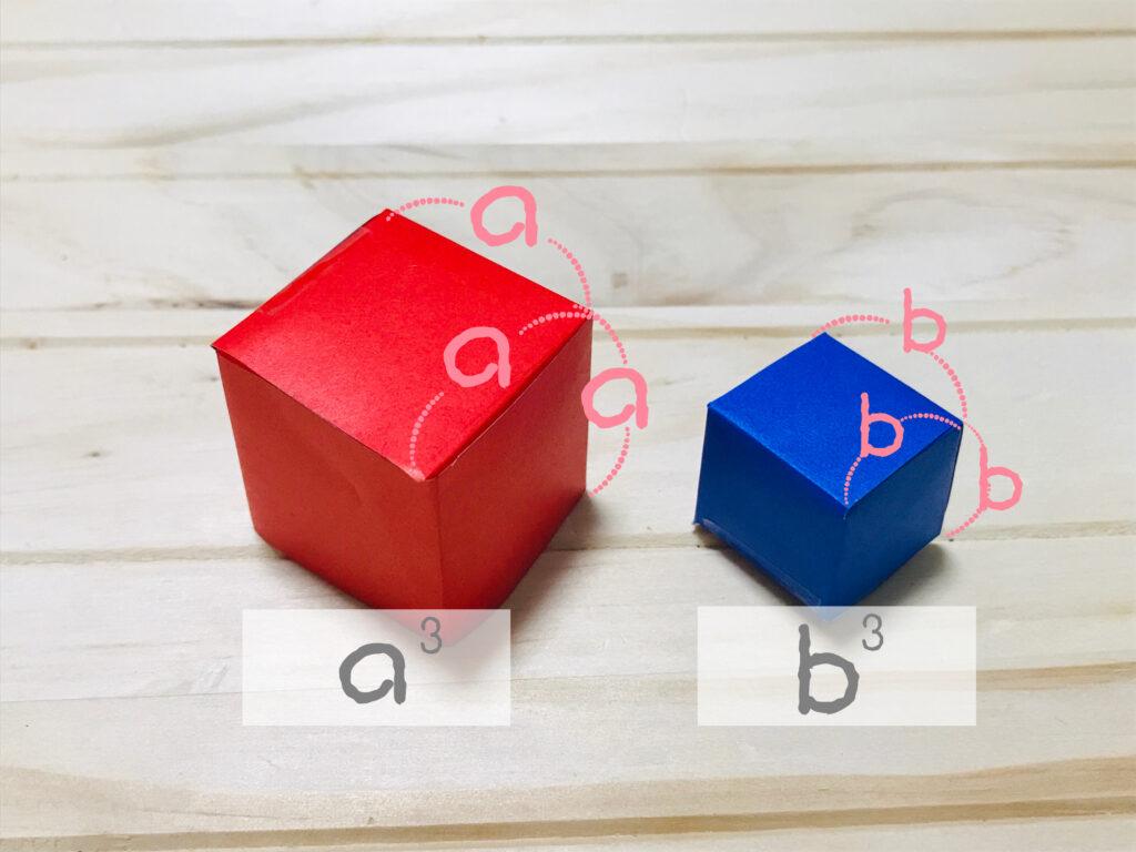 立方体の公式